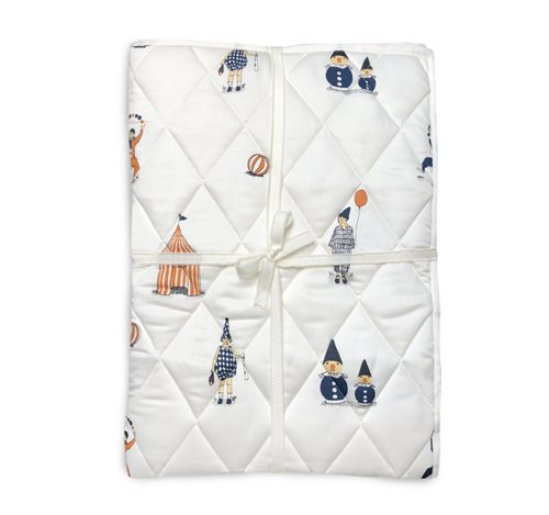 Quilted Blanket, Clowns