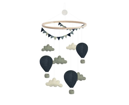 Mobile, Air Balloons/Pennants, D. Blue