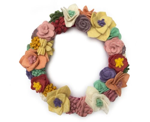 Flower Wreath, Mix, Big