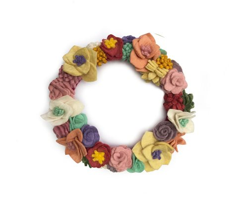 Flower Wreath, Mix, Small