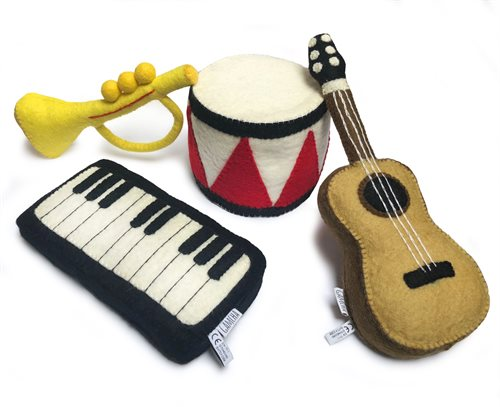Instruments, Set of 4