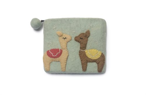 Purse, Lama, Mint