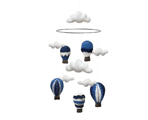 Mobile, Airballoons, Blue